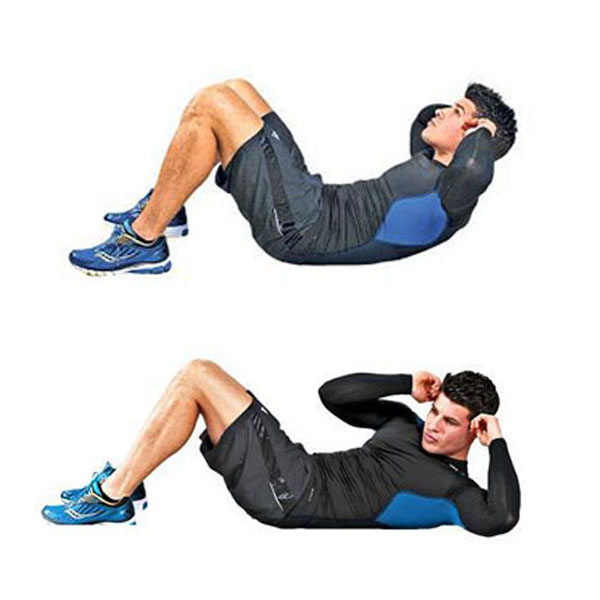 حرکات ورزشی برای آّب کردن شکم در خانه