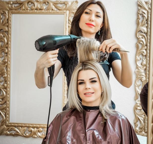 براشینگ موی کوتاه