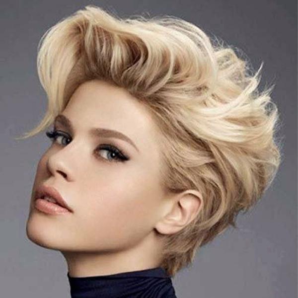 مدل شینیون موی کوتاه فشن