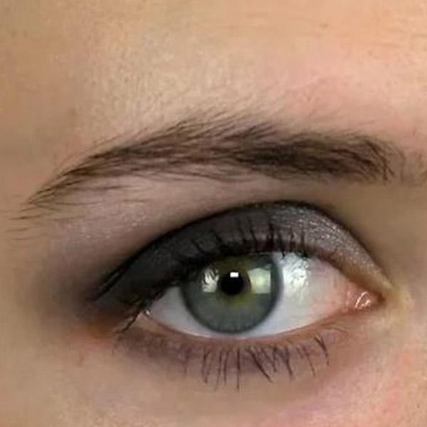 آموزش سایه چشم سموکی