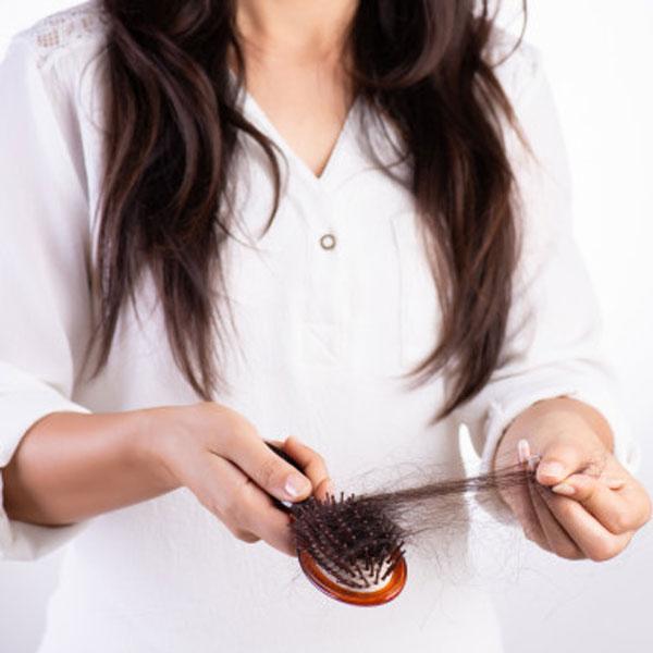 علت کم شدن ناگهانی موی سر