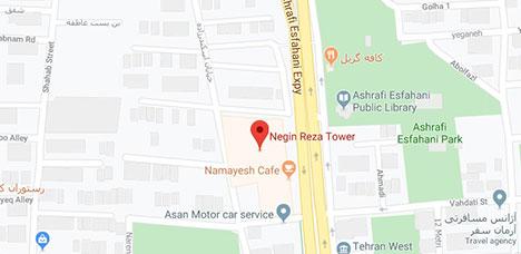 آدرس سالن زیبایی آلما