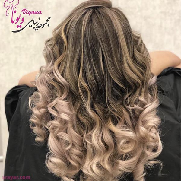 بهترین آرایشگاه رنگ مو و رنگ و مش در شرق تهران خیابان پیروزی
