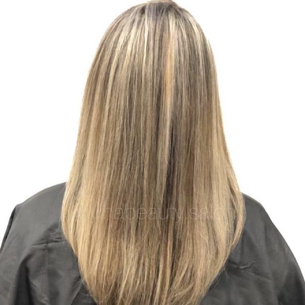 روش از بین بردن زردی و نارنجی موهای دکلره شده