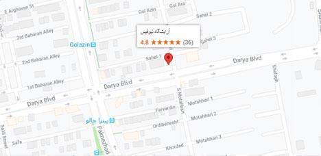 آدرس آرایشگاه مردانه نیوفیس