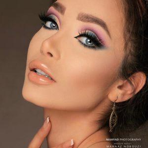 آرایش غلیظ | آموزش  آرایش چشم  کات کریس