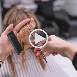 آموزش مرحله به مرحله کوتاهی مو  مدل  رپ دخترانه   مدل مو کوتاه و شیک دخترانه در آکادمی چترگل