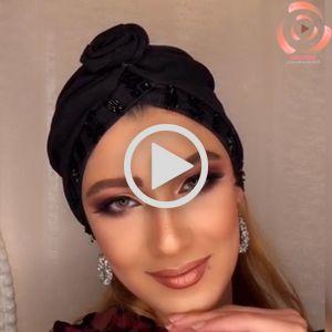 فیلم آرایش صورت شاین دار | میکاپ آرتیست رها ابراهیمی