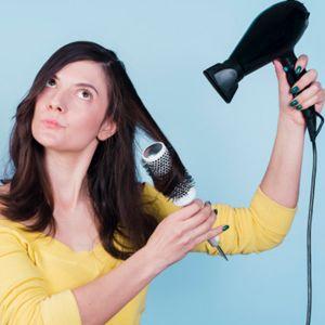 آموزش صاف کردن و براشینگ موی وز | آموزش سشوار کشیدن مو