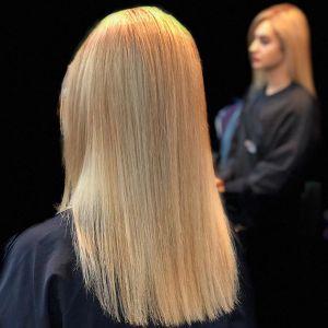 پیگمنت تراپی یا دادن دانه مصنوعی به مو | آموزش بستر سازی موهای روشن
