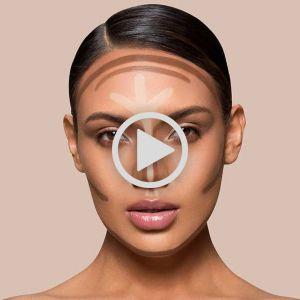 فیلم کامل آموزش  خودآرایی صورت   مدرس آرایش صورت سارا عسگری