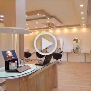 فیلم فضای  کلاس و  فضای آموزشی آرایشگری جهت اجاره  در آجودانیه | اجاره فضای همایش آرایشی در شمال تهران