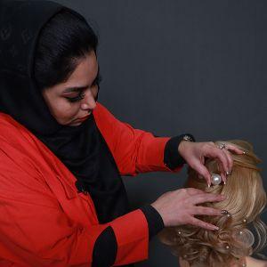 دوره آموزش آرایشگری مو | بهترین آموزشگاه شینیون مو در تهران