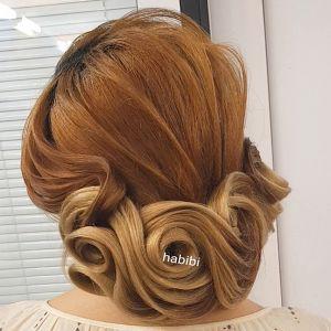شینیون مو چیست؟ | آموزش شینیون خطی +عکس