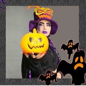 میکاپ هالووین چه جوریه؟+عکس