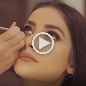 مدل میکاپ و آرایش صورت عروس ایرانی   مدرس و  میکاپ آرتیست حرفه ای عروس سارا عسگری