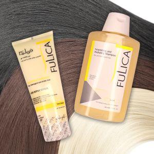 معرفی بهترین شامپو برای موهای خشک و آسیب دیده  شامپو مخصوص موهای رنگ شده فولیکا