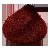 رنگ مو قهوه ای قرمز روشن