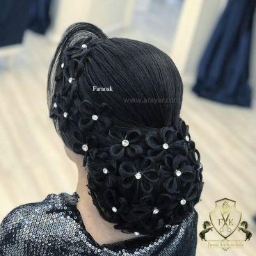 چگونه شینیون بدون وز داشته باشیم؟ آماده سازی مو قبل از شینیون