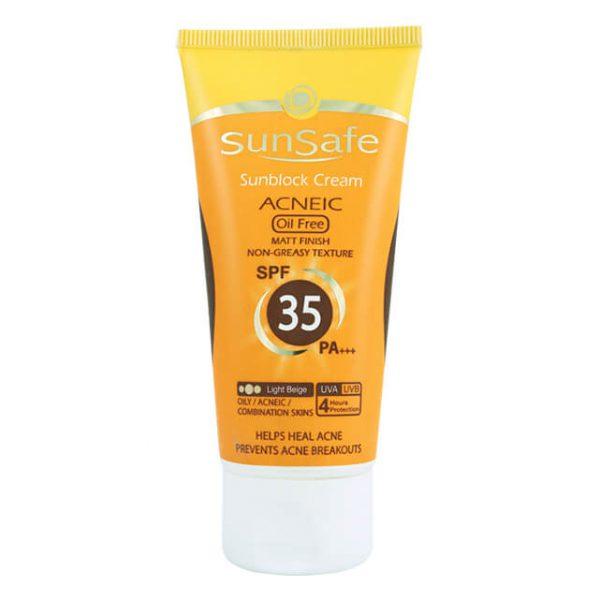 کرم ضد آفتاب SPF 35