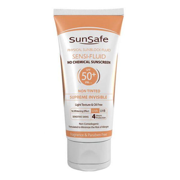 فلوئید ضد آفتاب فاقد جاذبههای شیمیایی