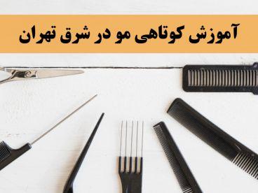 آموزش کوتاهی مو در شرق تهران