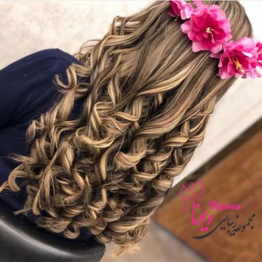 آموزش رنگ موی حرفه ای