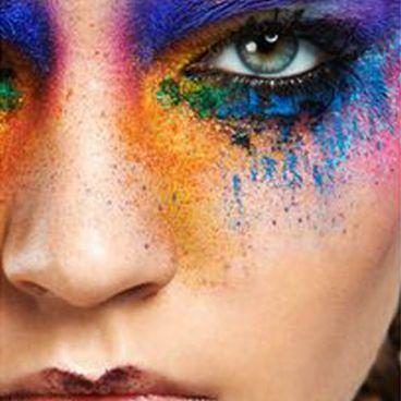 تاثیر رنگها در آرایش صورت