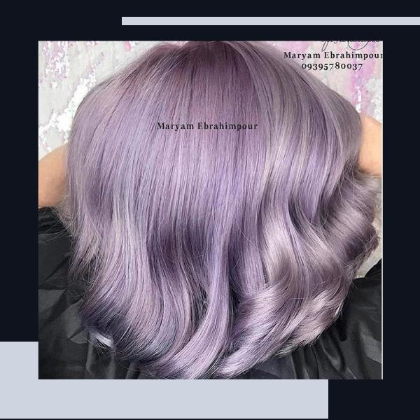 رنگ-مو-فانتزی-بدون-دکلره-بنفش