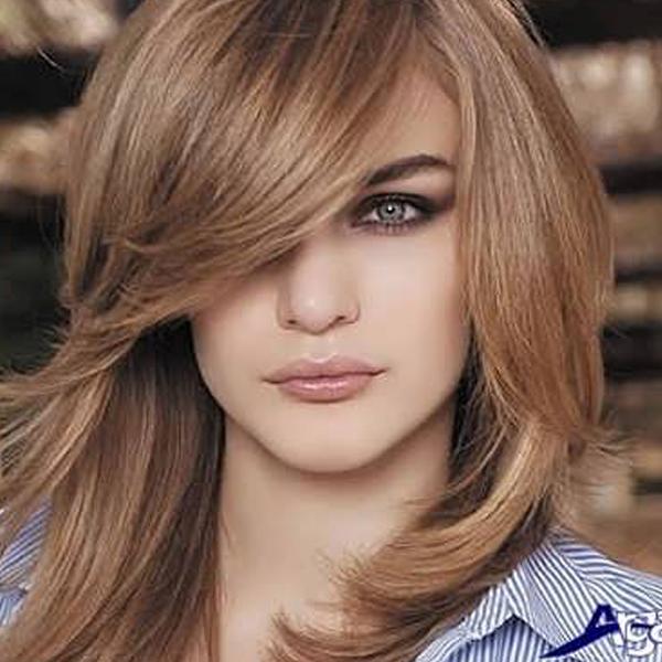 ترکیب رنگ موی بژ بدون دکلره