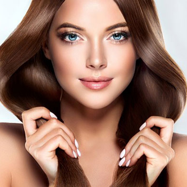 ترکیب رنگ موی شکلاتی بدون دکلره