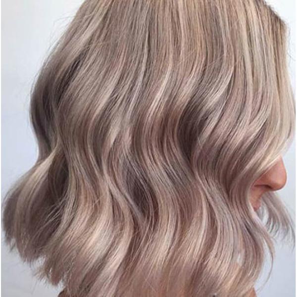 فرمول ترکیب رنگ موی شامپاینی