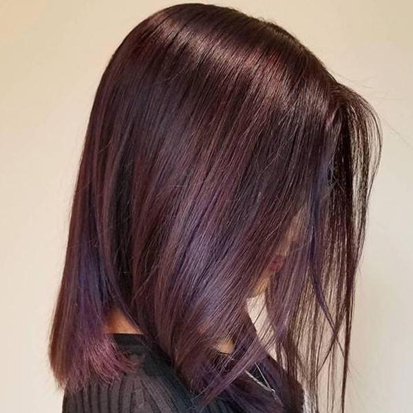 ترکیب رنگ موی بدون دکلره در آرایشگاه فرانک در اندرزگو