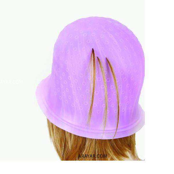 روش هایلایت مو با کلاه مش