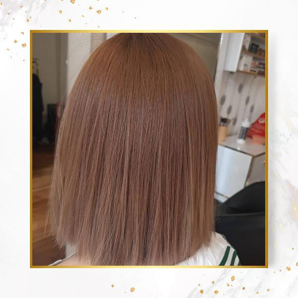 رنگ مو کاکائویی
