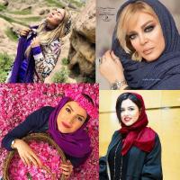 تیپ و آرایش بازیگران در نوروز ۹۹