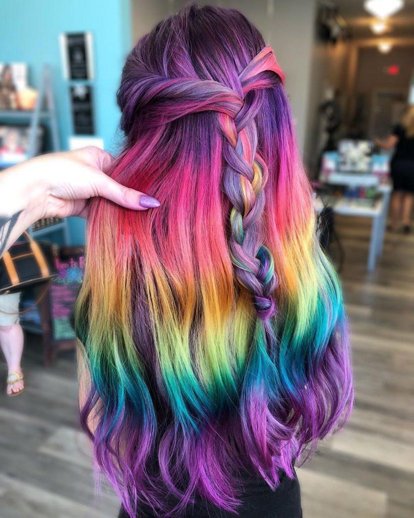 رنگ مو شیک و جذاب