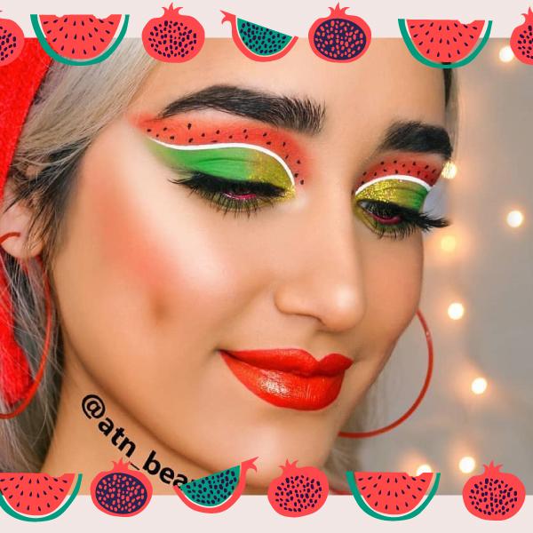 گریم یلدا با تم هندوانه