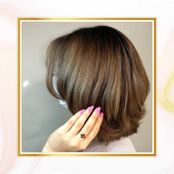 بلیاژ موی کوتاه