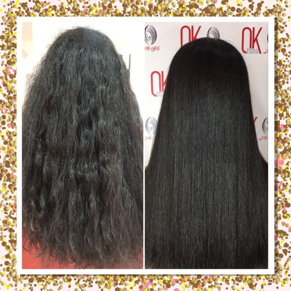 کراتین مو طبیعی