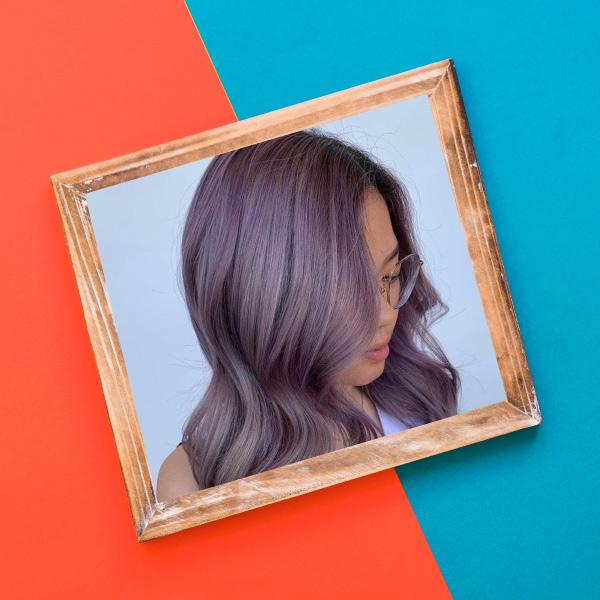 رنگ مو یاسی