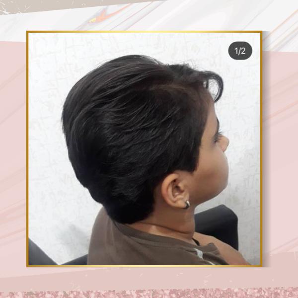 مدل کوتاهی مو مناسب صورت گرد