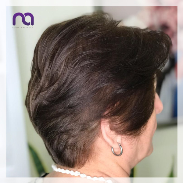 کوتاهی مو زنانه زعفرانیه