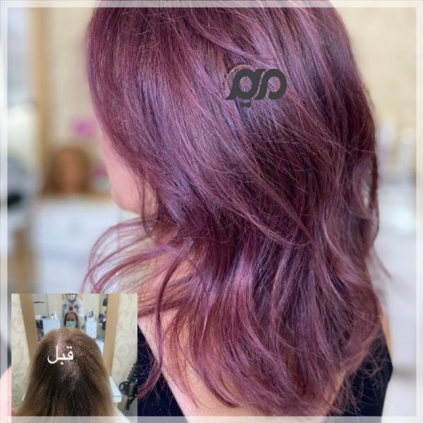رنگ مو فانتزی و جدید