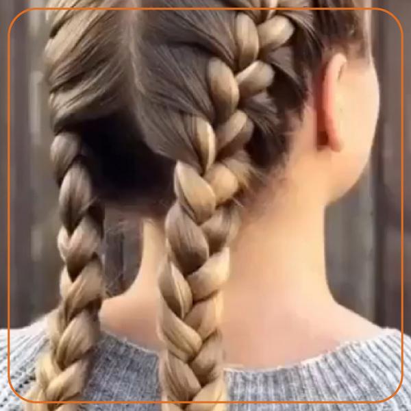 بافت مو هلندی زیبا