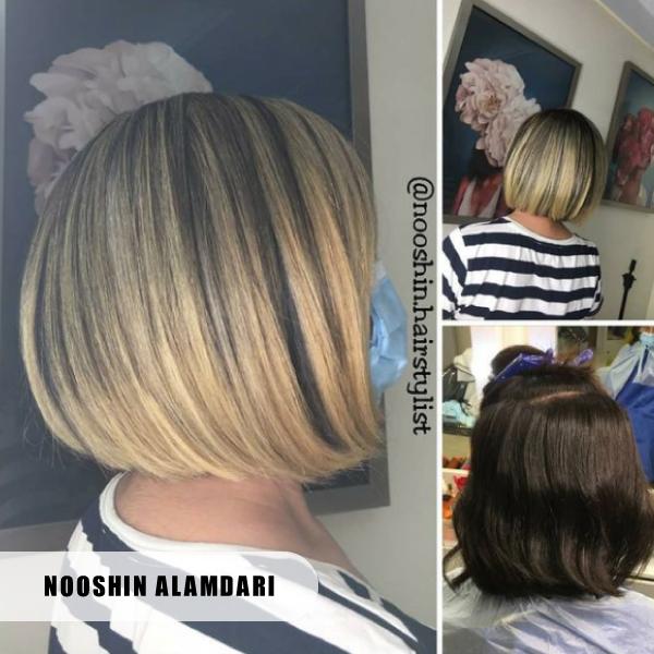 مرکز رنگ مو حرفه ای تهران