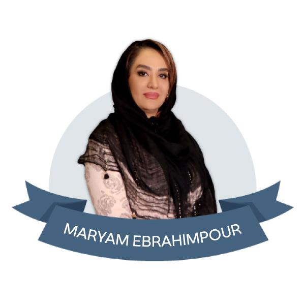 مدرس رنگ مش مریم ابراهیم پور